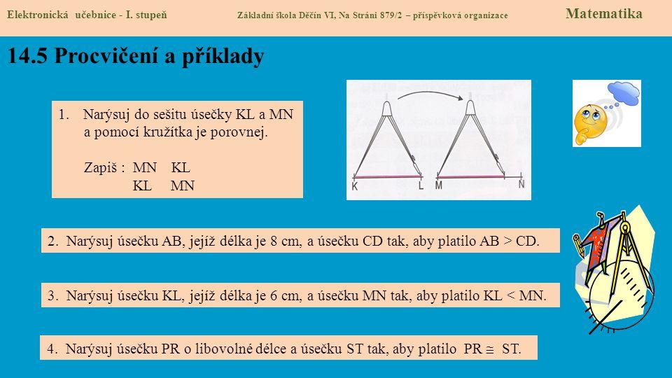 14.6 Něco navíc pro šikovné Elektronická učebnice - I.