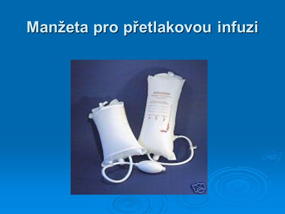 Manžeta pro přetlakovou infuzi