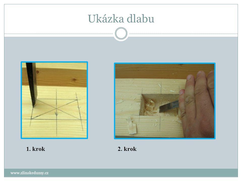 Jiné dlabací pomůcky a nástroje www.zlinskedumy.cz Dlabací vrták - slouží k výrobě kruhových a podélných dlabů do dřeva pomocí rotujícího nástroje s břity: 1,2,3, i 4břité.