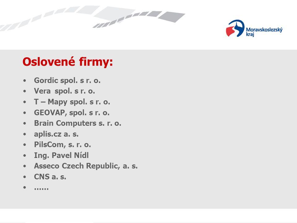 Licenční politika firmy T-Mapy spol.s r. o.