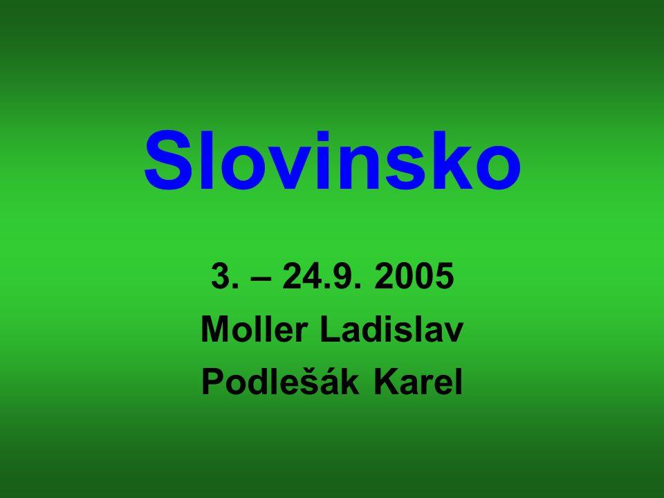 Informace o Slovinsku Hlavní město : Lublaň Rozloha : 20 256 km2 Měna : slovinský tolar Jazyk : slovinština Náboženství : římští katolíci Státní zřízení : republika Počet obyvatel : 1 994 000