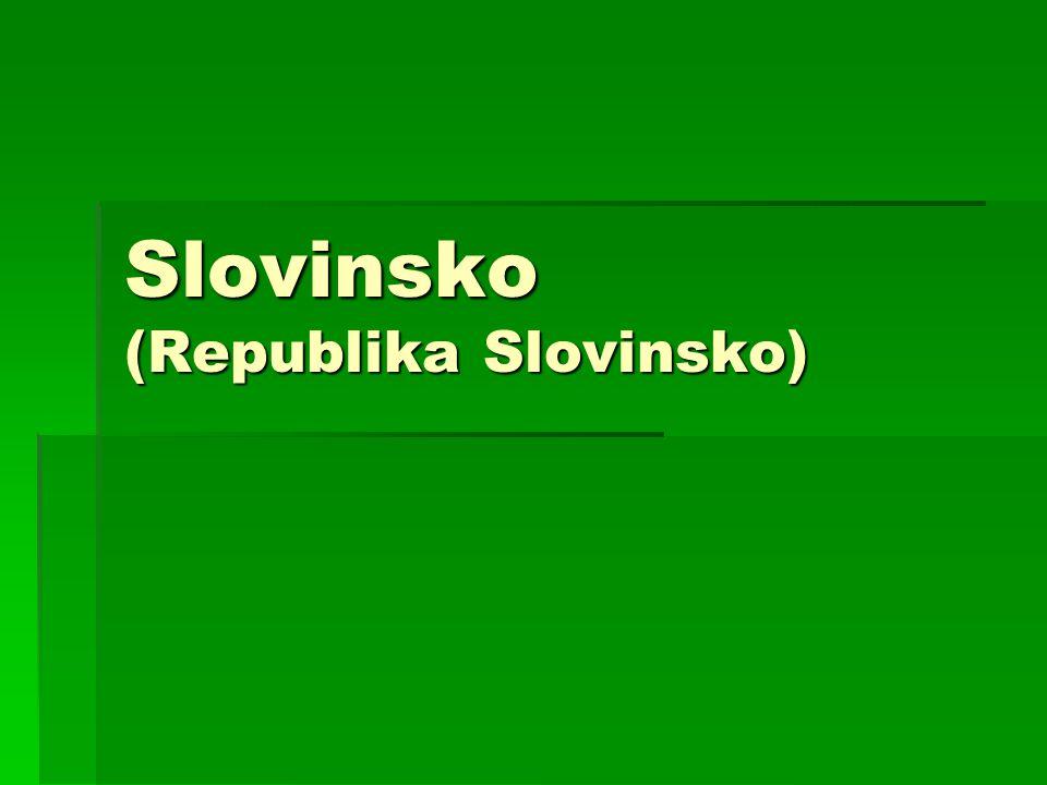 Slovinsko (Republika Slovinsko)