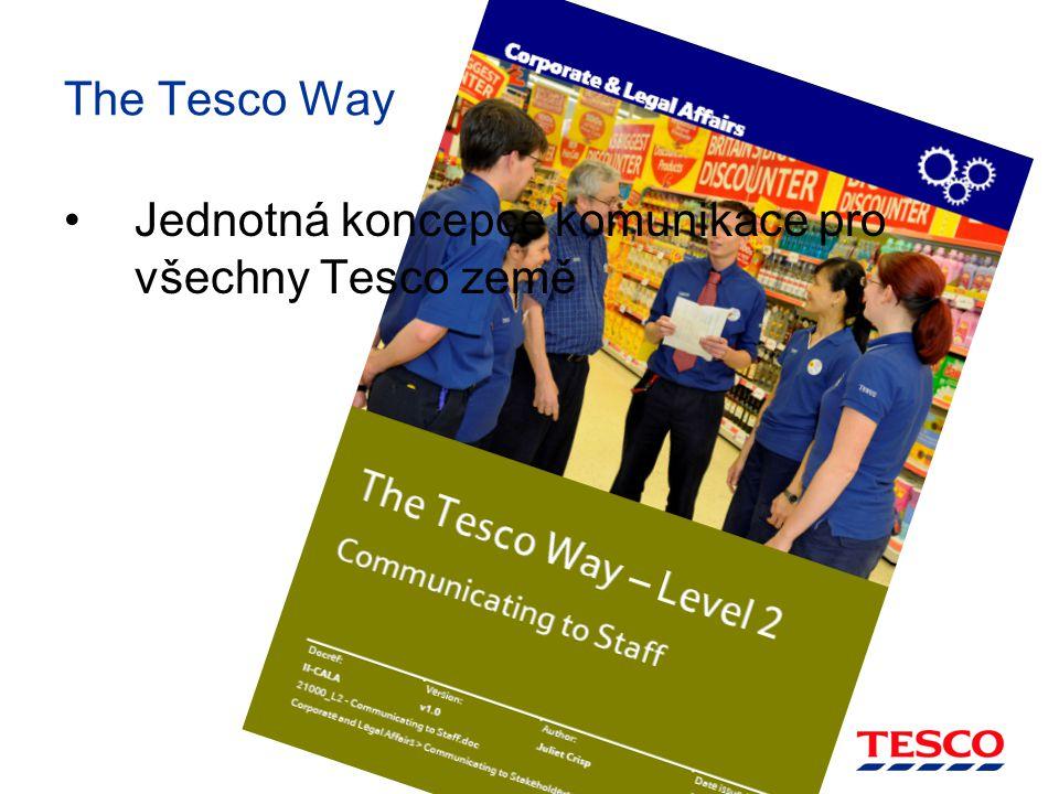 The Tesco Way Jednotná koncepce komunikace pro všechny Tesco země