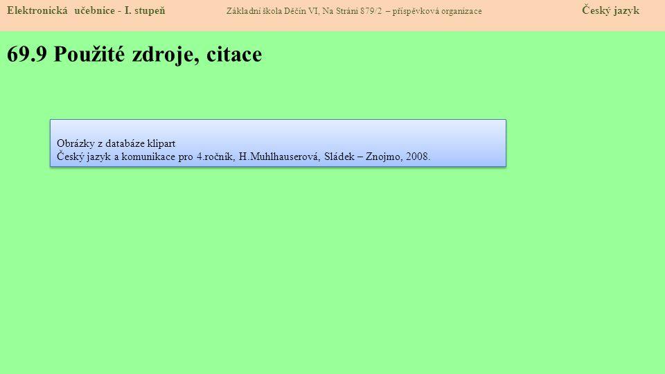 69.10 Anotace: Elektronická učebnice - I.