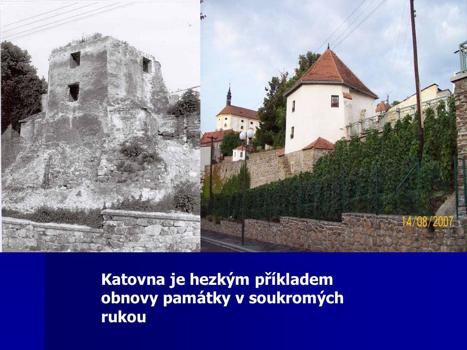 Katovna je hezkým příkladem obnovy památky v soukromých rukou