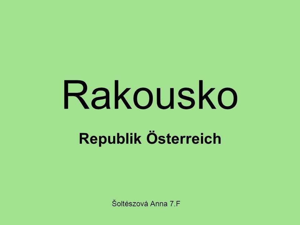 Rakousko Republik Österreich Šoltészová Anna 7.F