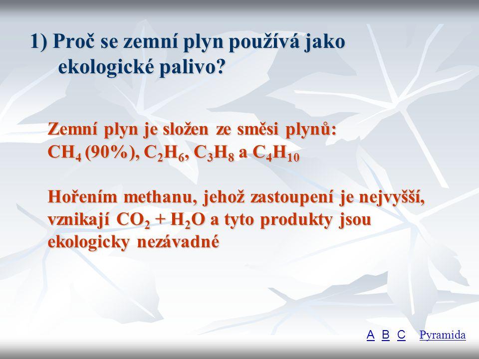2) Jaké reakce poskytují alkeny.Reakce alkenů jsou adice na dvojnou vazbu a polymerace.