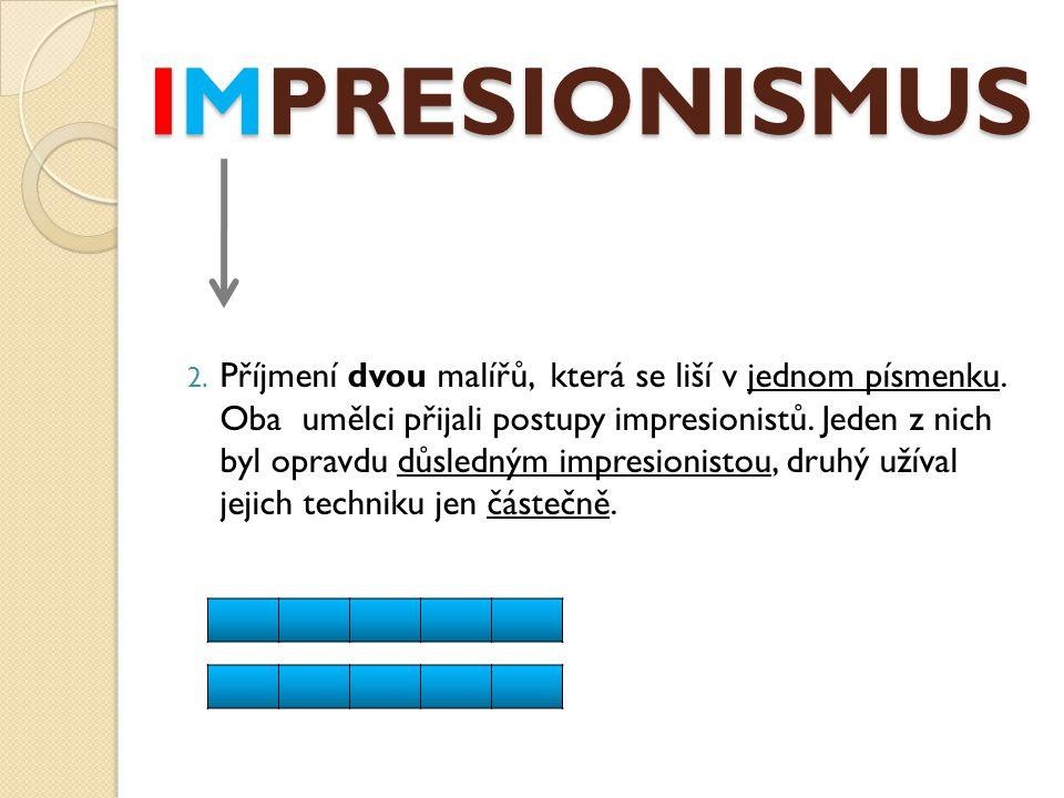 IMPRESIONISMUSIMPRESIONISMUSIMPRESIONISMUSIMPRESIONISMUS 13.