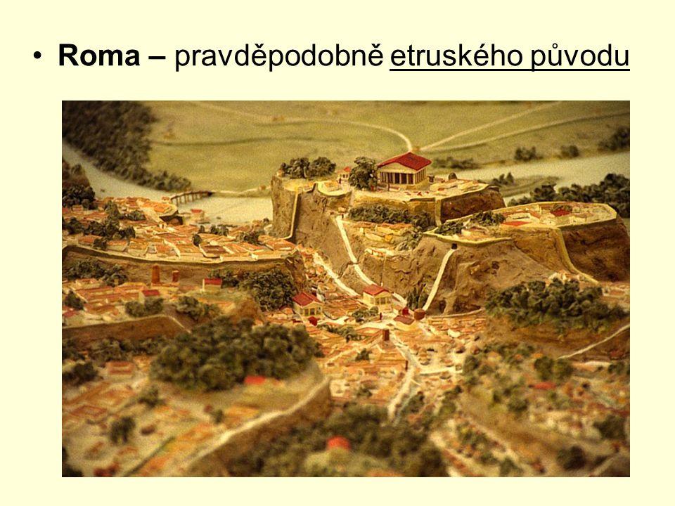 Roma – pravděpodobně etruského původu