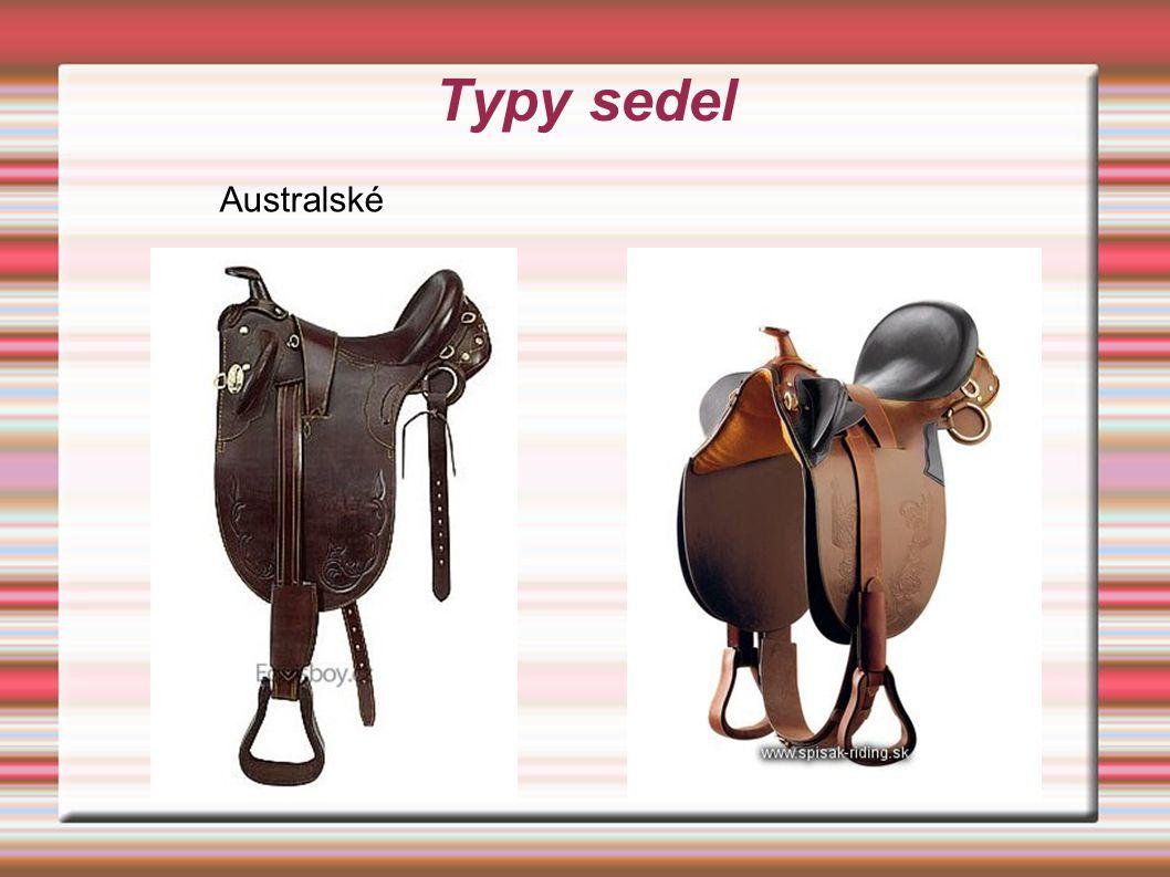 Typy sedel Australské