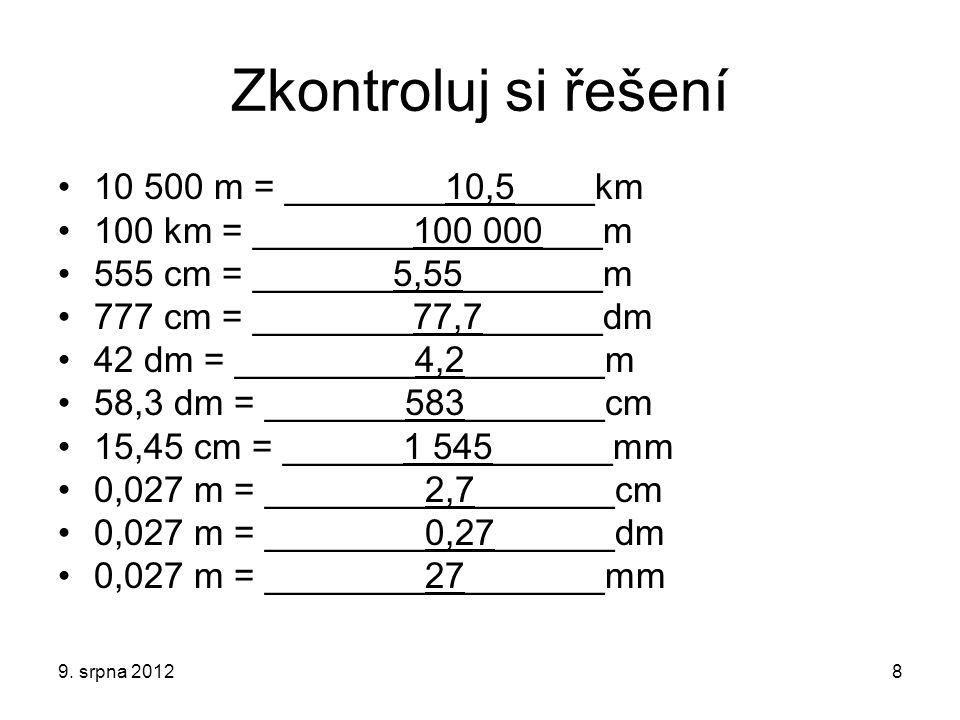 Použité zdroje KOLÁŘOVÁ, R., BOHUNĚK, J.Fyzika pro 6.