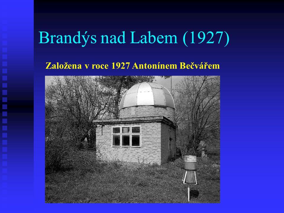 Brandýs nad Labem (1927) Založena v roce 1927 Antonínem Bečvářem
