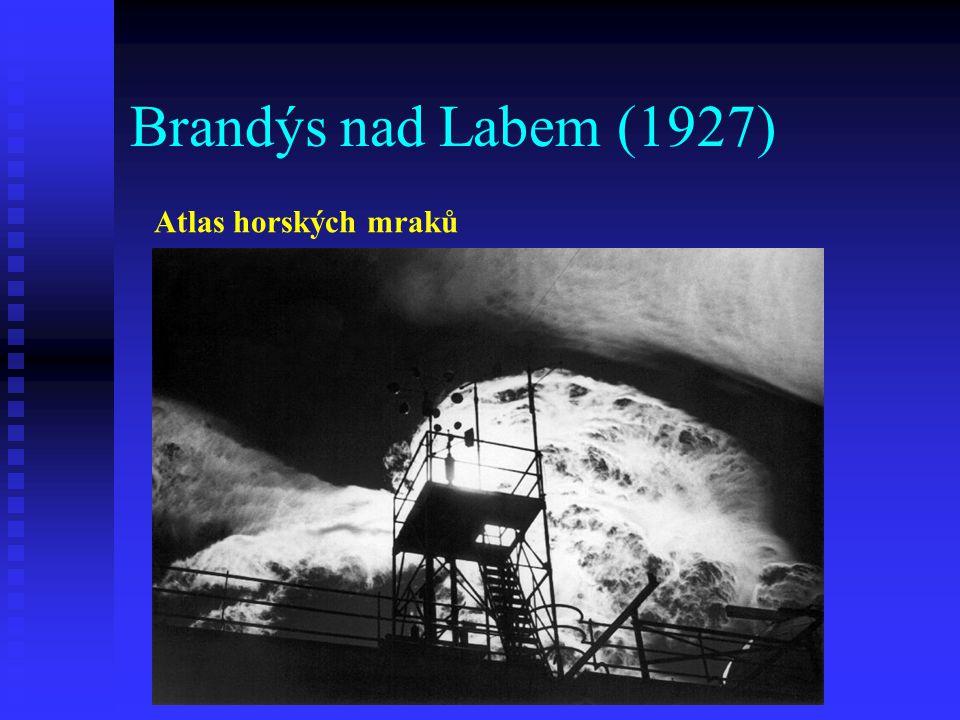 Brandýs nad Labem (1927) Atlas horských mraků