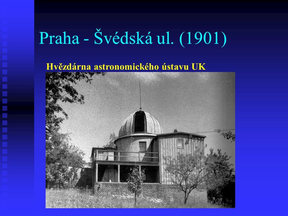 Praha - Zborovská ul. (1918) Nebeská trafika Karla Nováka