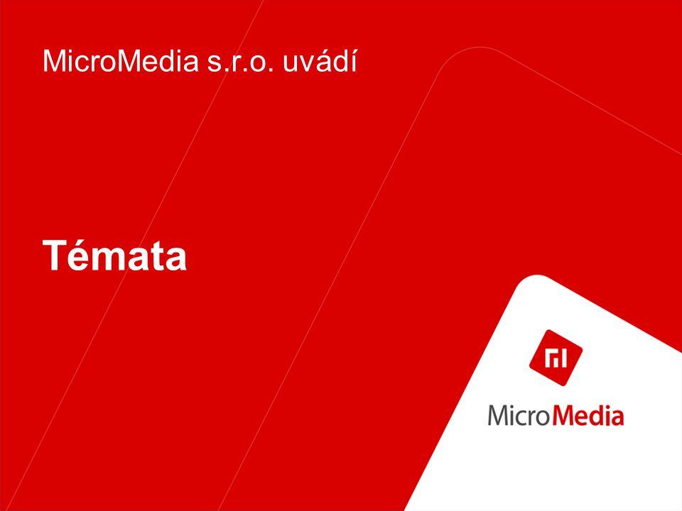Témata MicroMedia s.r.o. uvádí