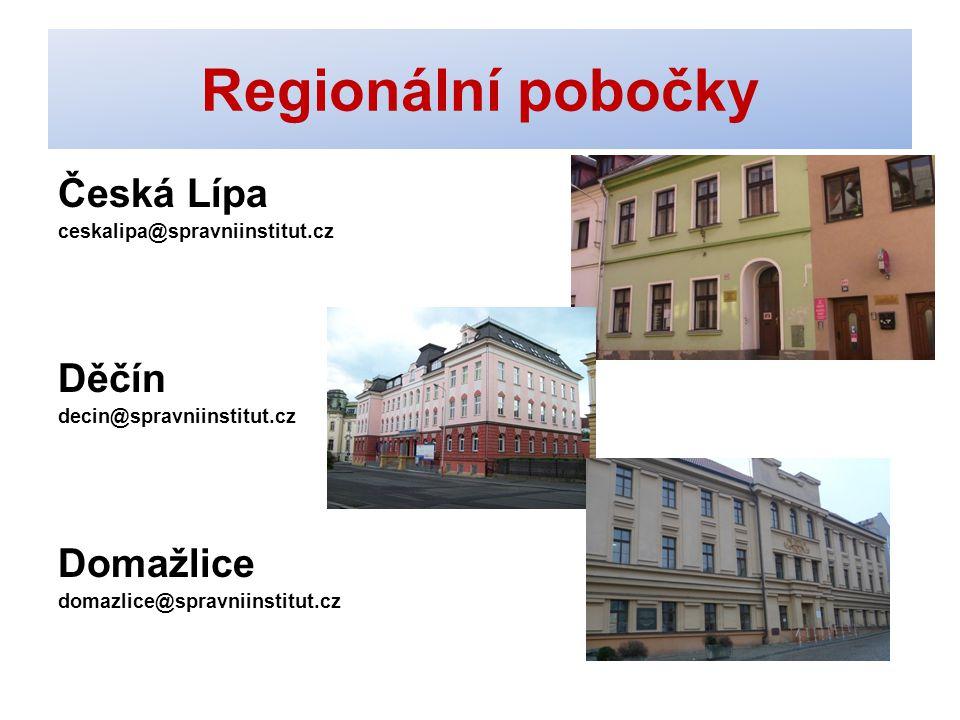 Kontakty - CENTRUM Správní institut, s.r.o. Souběžná 7, Jablonec n. N. E-mail: info@spravniinstitut.czinfo@spravniinstitut.cz www.spravniinstitut.cz J