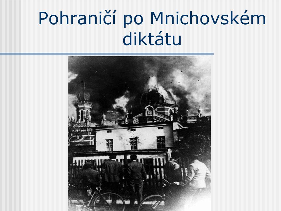 Pohraničí po Mnichovském diktátu
