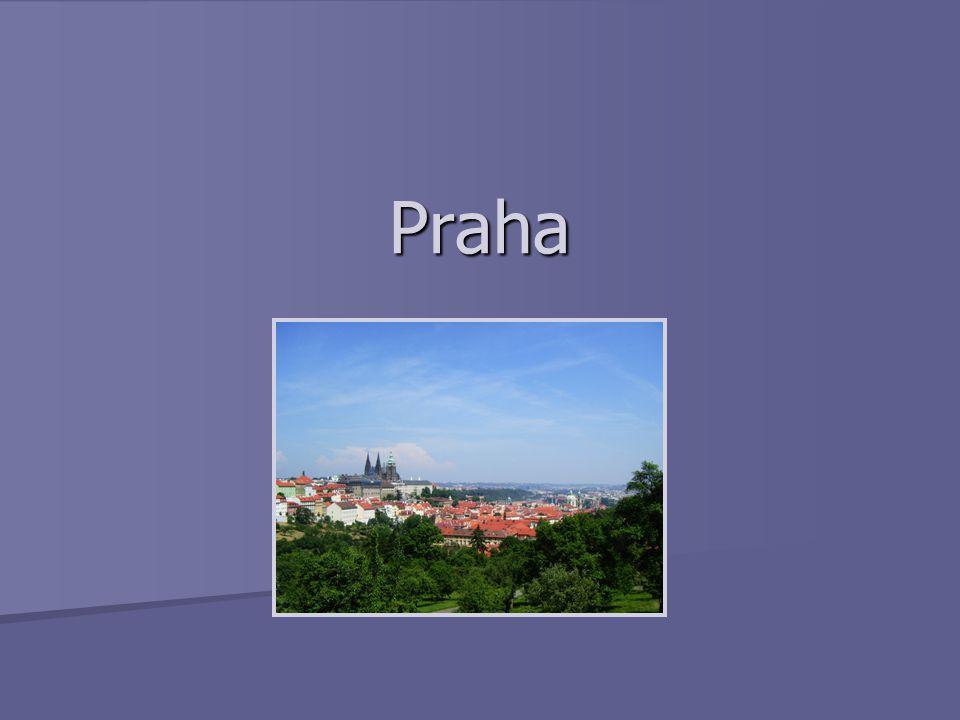 Úvod Hlavní a největší město České republiky Hlavní a největší město České republiky 1,3 mil.