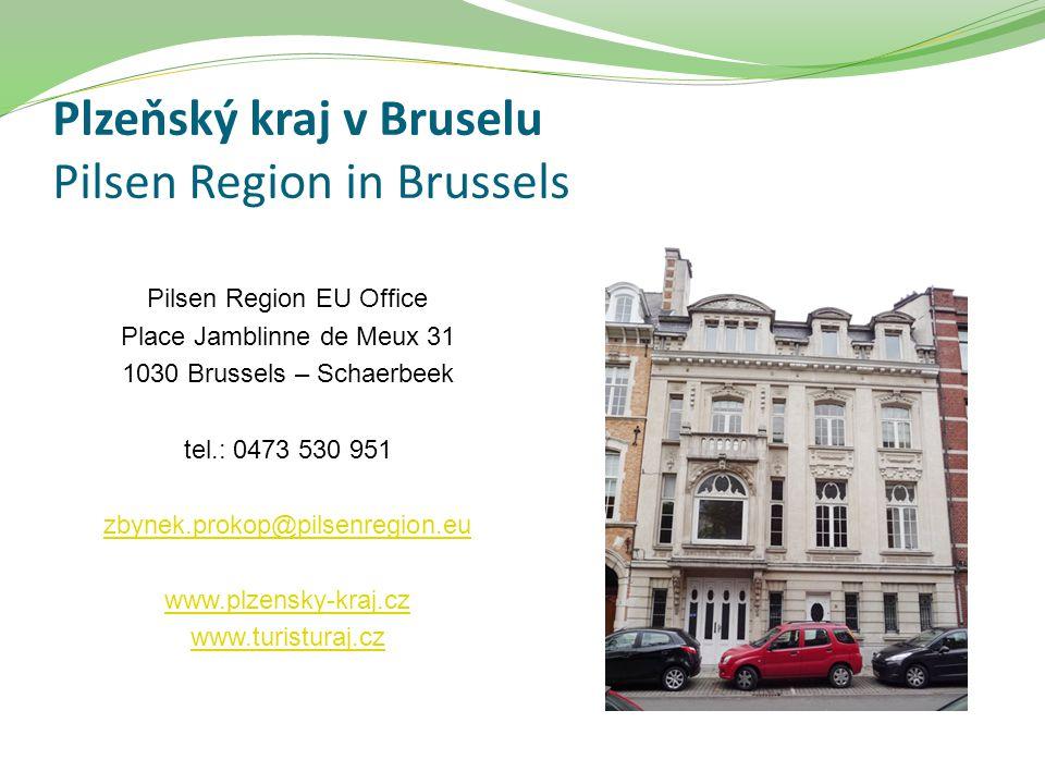 Plzeňský kraj v Bruselu Pilsen Region in Brussels Pilsen Region EU Office Place Jamblinne de Meux 31 1030 Brussels – Schaerbeek tel.: 0473 530 951 zby