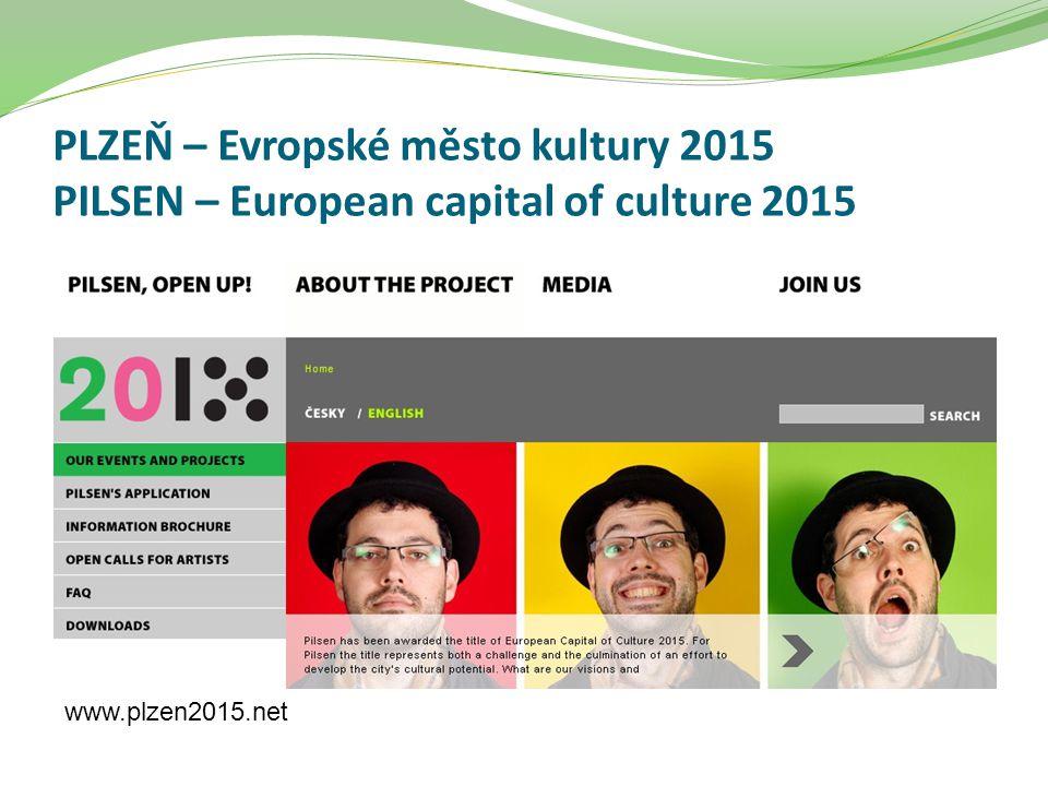 PLZEŇ – Evropské město kultury 2015 PILSEN – European capital of culture 2015 www.plzen2015.net