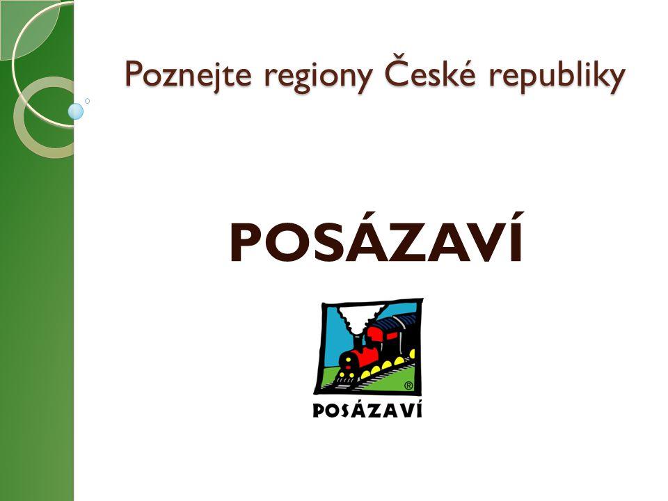 Poznejte regiony České republiky POSÁZAVÍ
