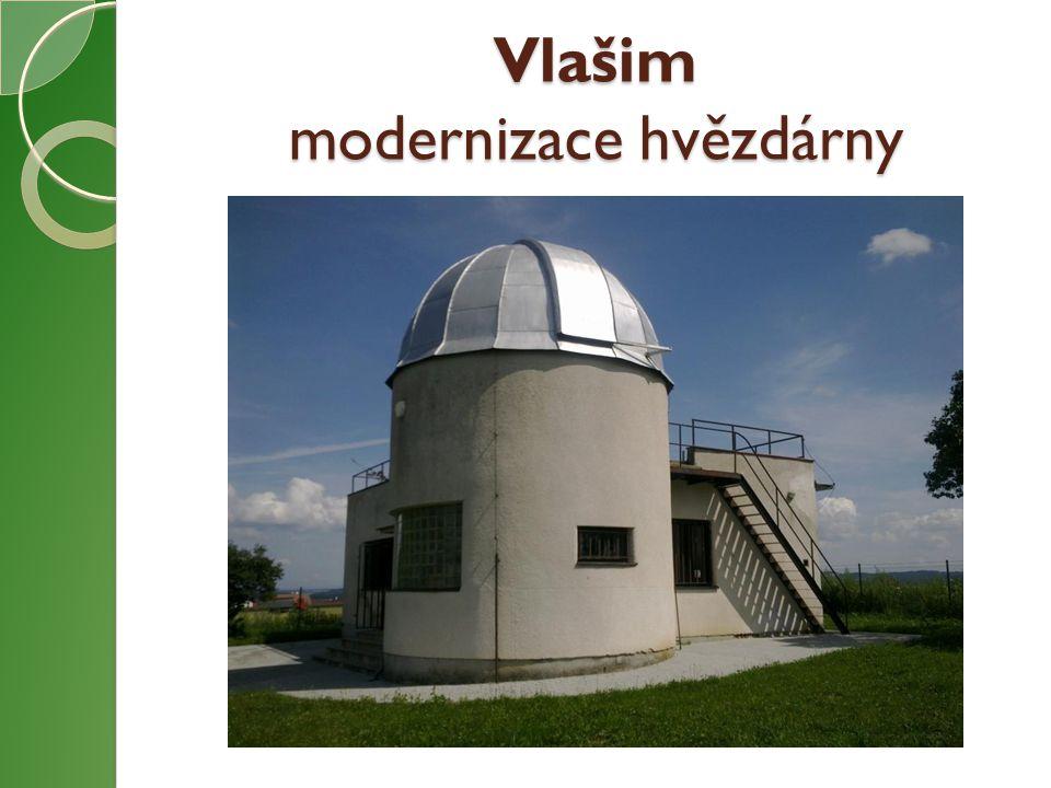 Vlašim modernizace hvězdárny