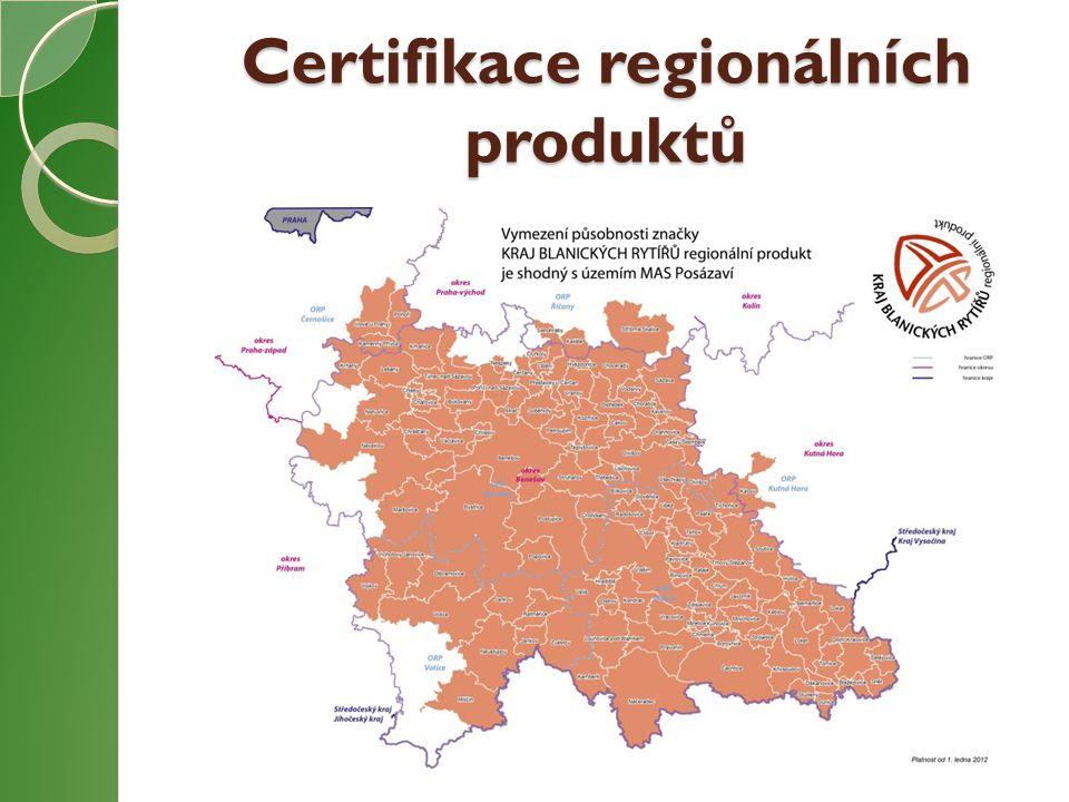 Certifikace regionálních produktů