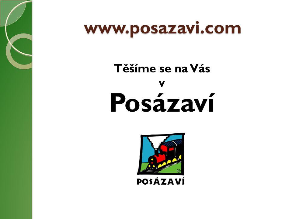 www.posazavi.com Těšíme se na Vás v Posázaví