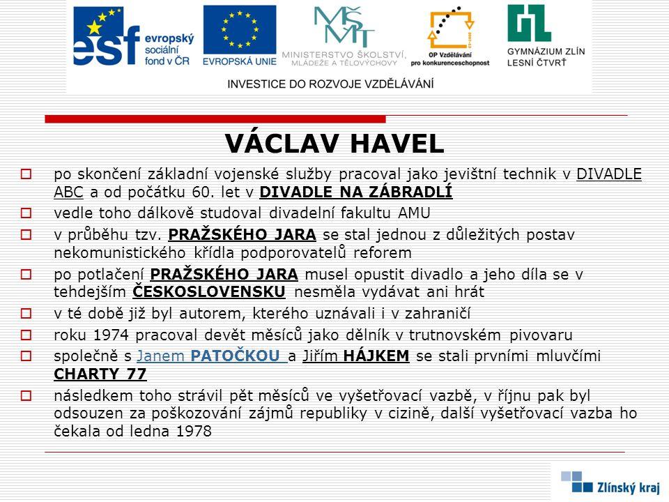 ZDROJE A POUŽITÁ LITERATURA:  MACHALA, Lubomír: Česká a slovenská literatura v exilu a samizdatu.