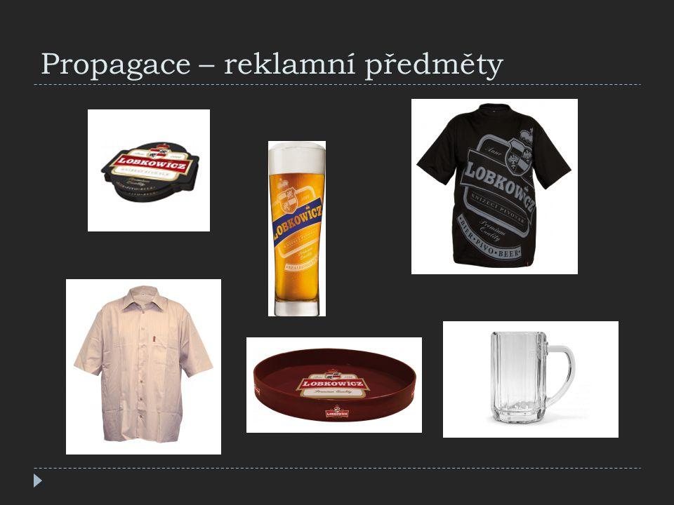 Propagace – reklamní předměty