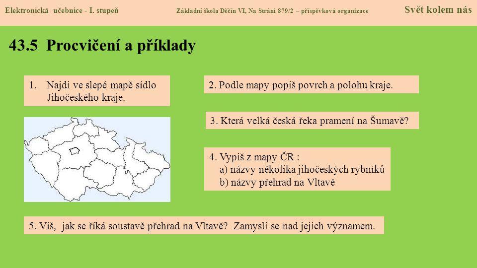 43.5 Procvičení a příklady Elektronická učebnice - I.
