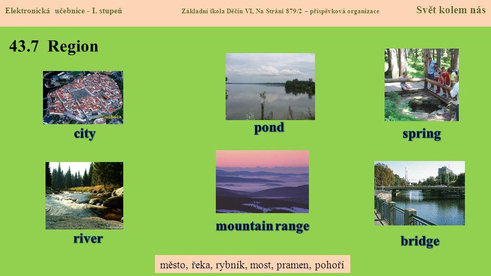 43.7 Region Elektronická učebnice - I.