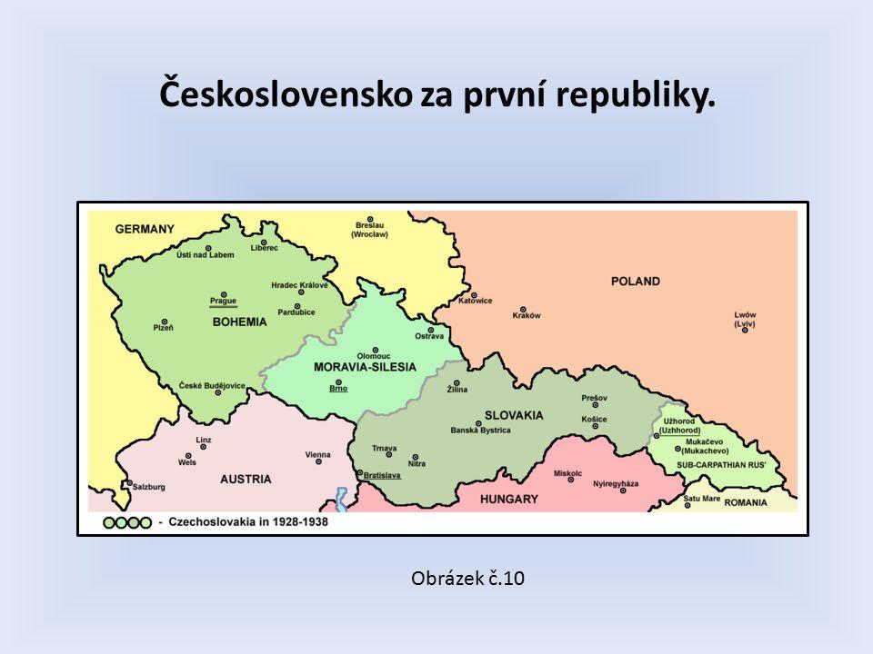 Československo za první republiky. Obrázek č.10