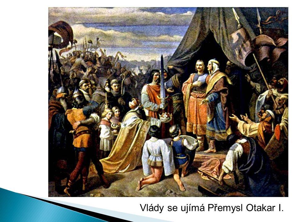 Vlády se ujímá Přemysl Otakar I.