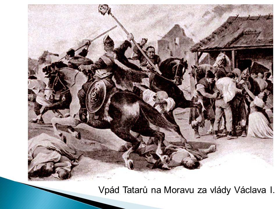 Vpád Tatarů na Moravu za vlády Václava I.