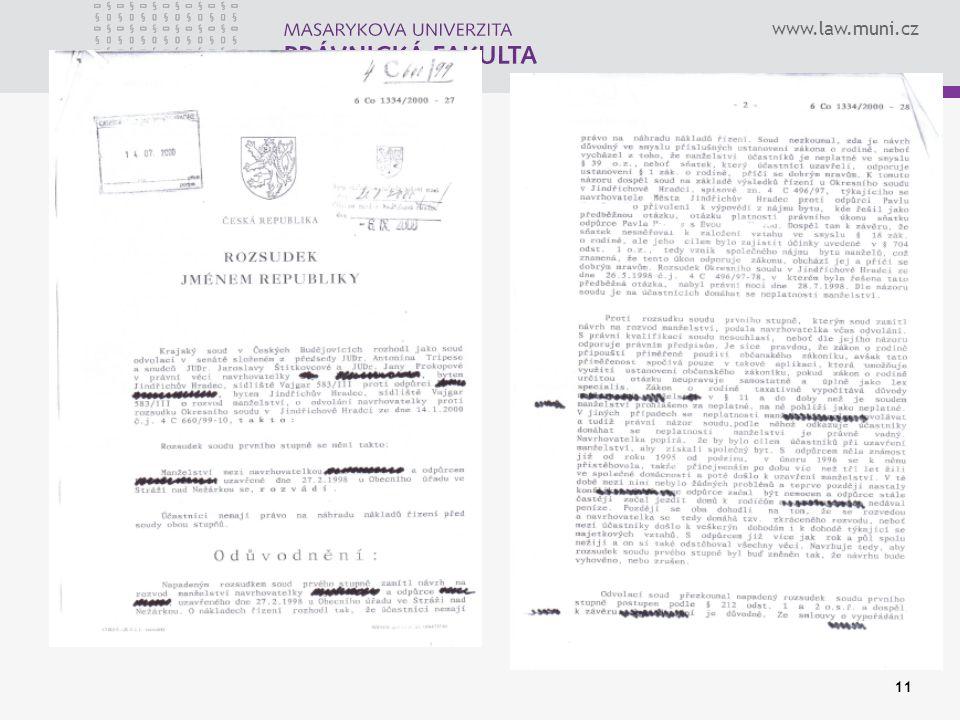 www.law.muni.cz 11