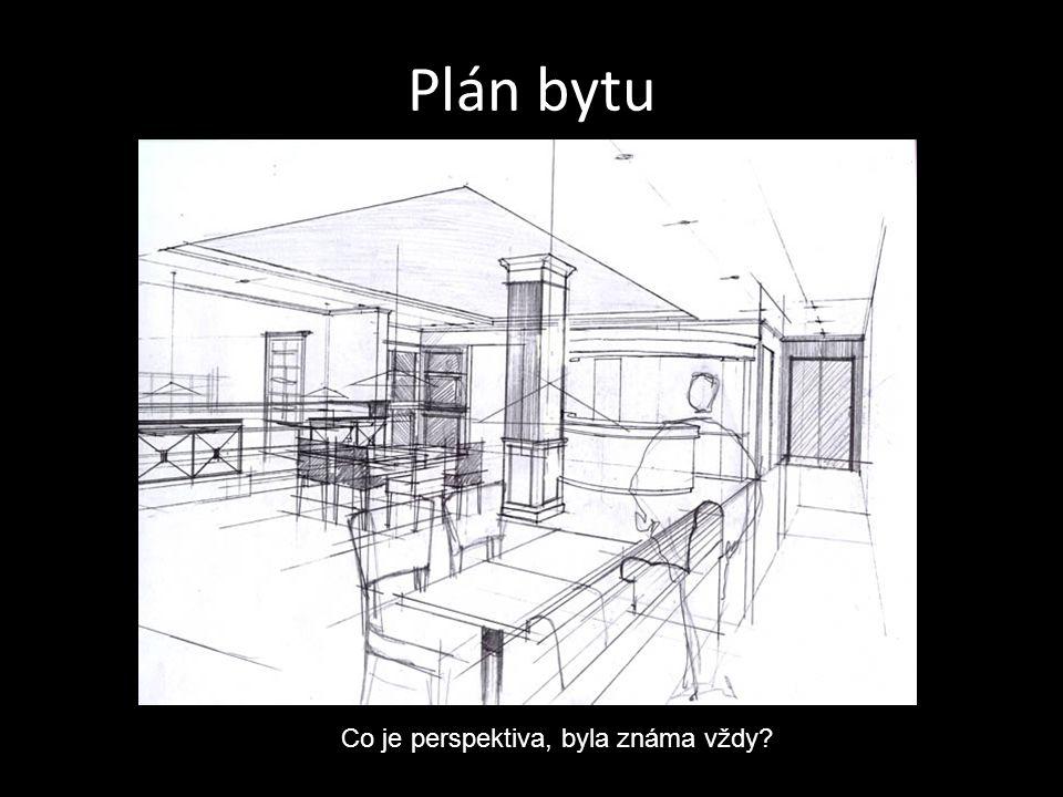 Plán bytu Co je perspektiva, byla známa vždy?