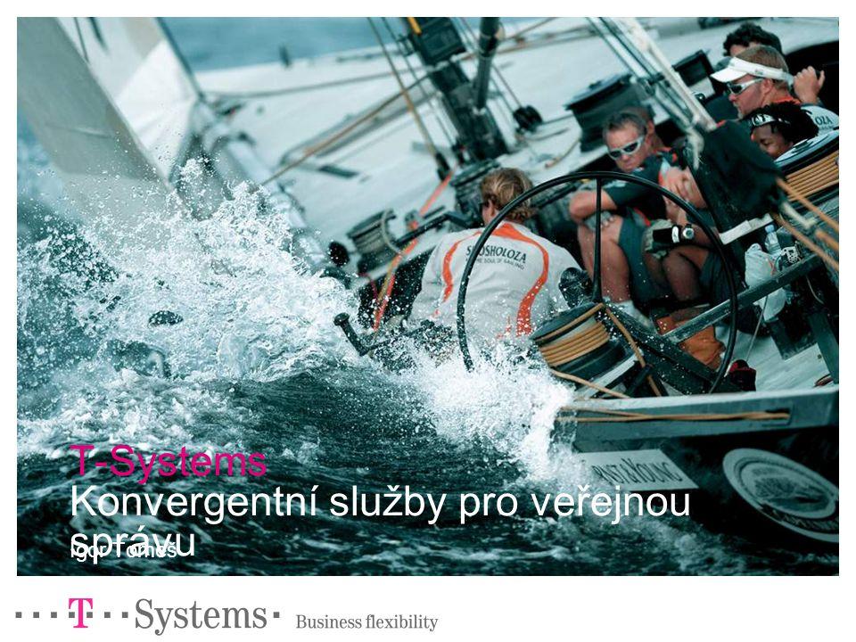 T-Systems Konvergentní služby pro veřejnou správu Igor Tomeš