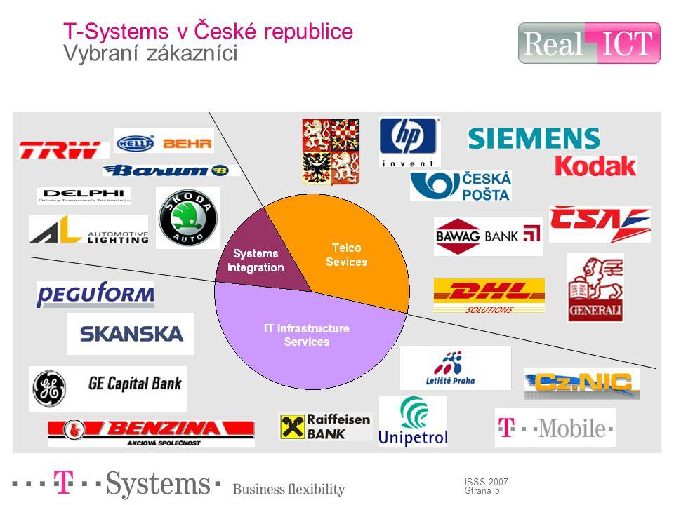 Strana 5 ISSS 2007 T-Systems v České republice Vybraní zákazníci IT Infrastructure Services