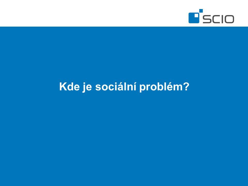 Kde je sociální problém