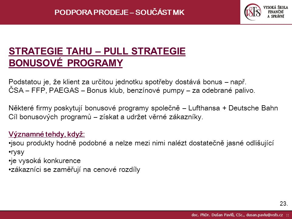 23.doc. PhDr.