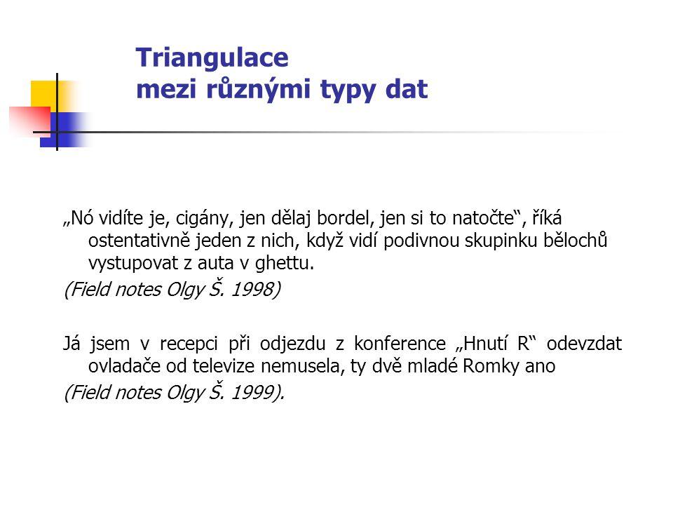 Triangulace mezi různými typy dat Vojtěch Láska zkoumal squaterskou komunitu Ladronka.