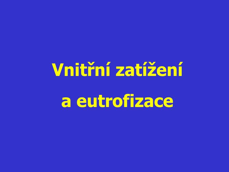Vnitřní zatížení a eutrofizace