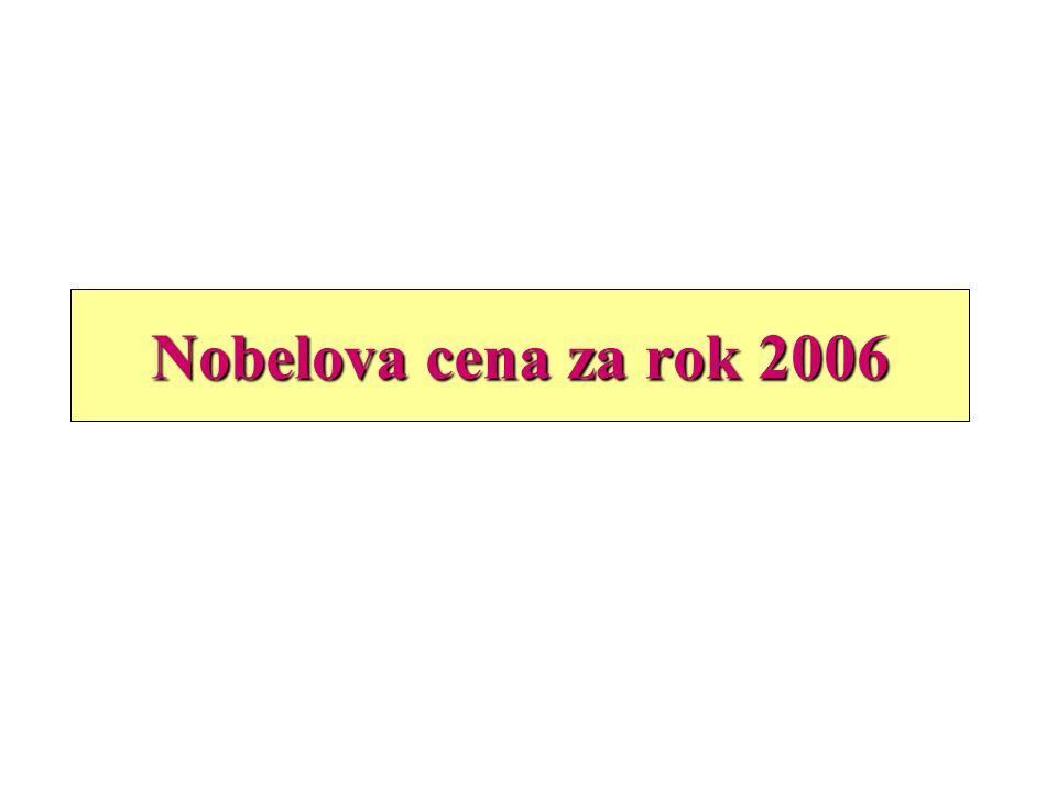 Nobelova cena za rok 2006