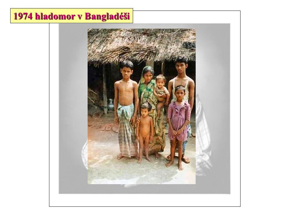 1974 hladomor v Bangladéši