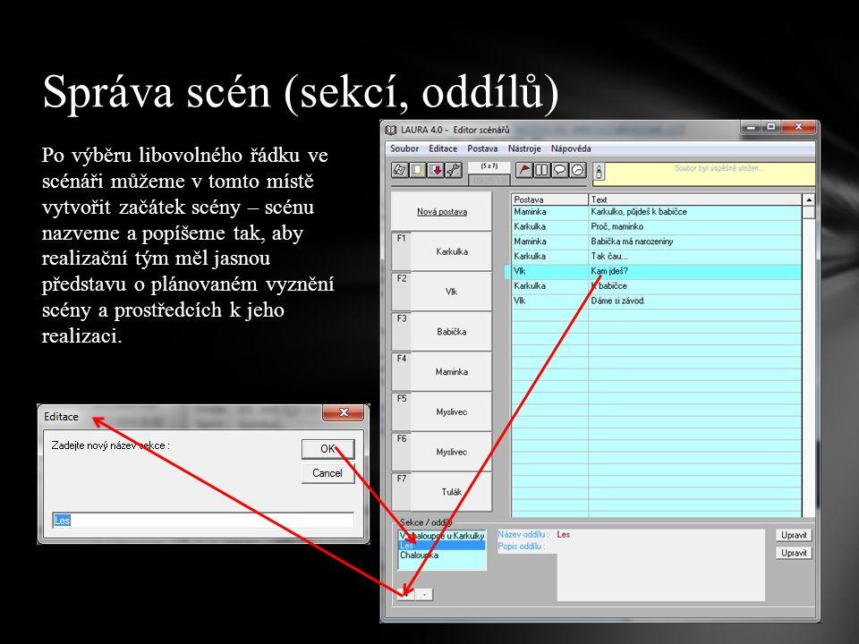 I tento ve své podstatě velmi jednoduchý editor nabízí funkce pro načasování a zkoušku textu.