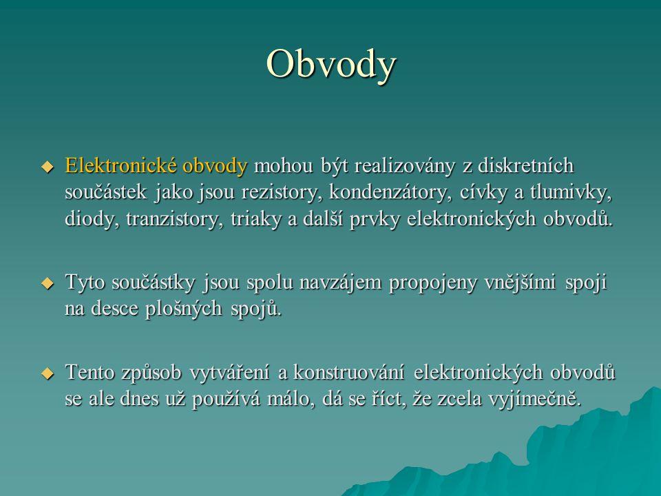 Zákaznické IO Zákaznické IO známe ve dvou variantách jako:  plně zákaznické obvody,  polozákaznické obvody.
