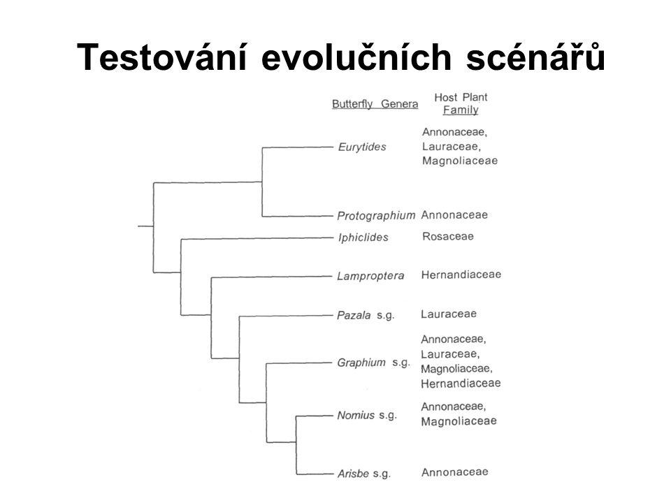 Testování evolučních scénářů