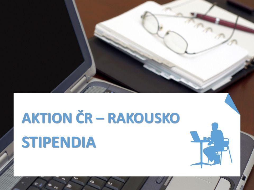 AKTION ČR – RAKOUSKO STIPENDIA