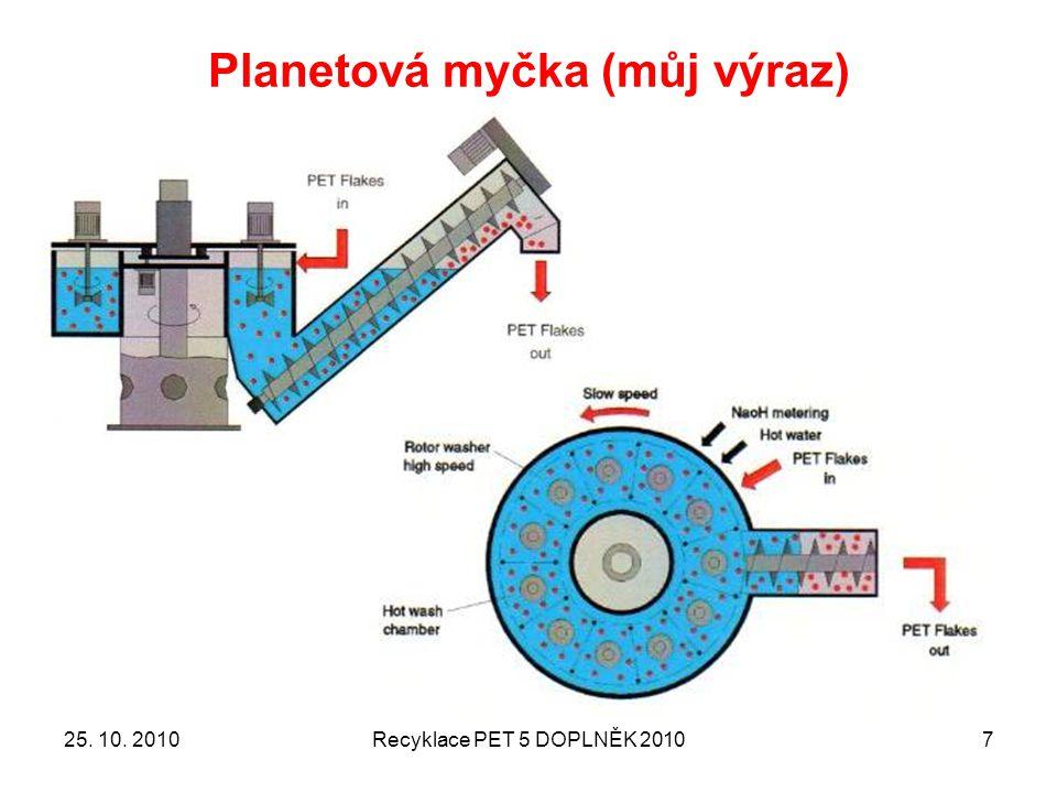 Planetová myčka (můj výraz) 25. 10. 2010Recyklace PET 5 DOPLNĚK 20107